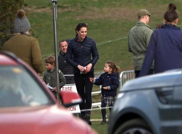 William And Kate Took Prince George And Charlotte On Day Out With The Tindalls