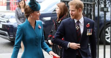 Prince Harry And Kate Reunite For Anzac Day Service