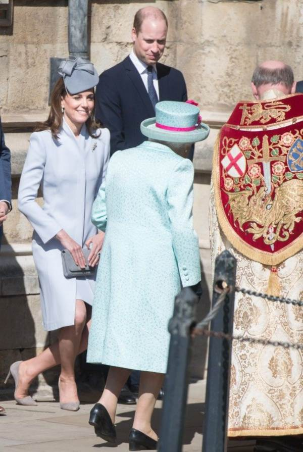 Kate, William, Harry Joined Other Royals For Easter Church Services