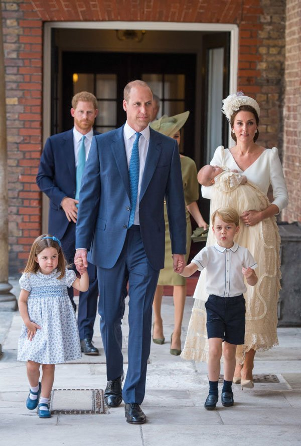 Photos From Prince Louis's Christine