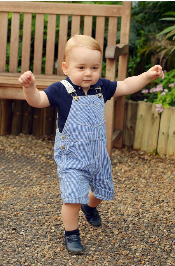 Prince George first birthday
