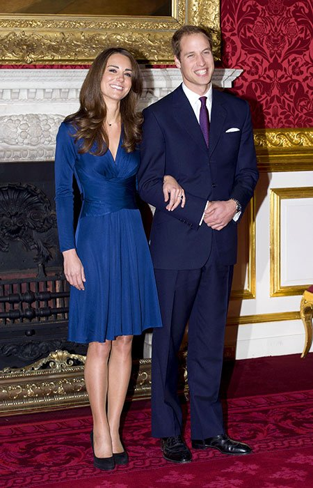 Prince William and Kate's engagement