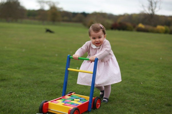 Princess Charlotte first birthday