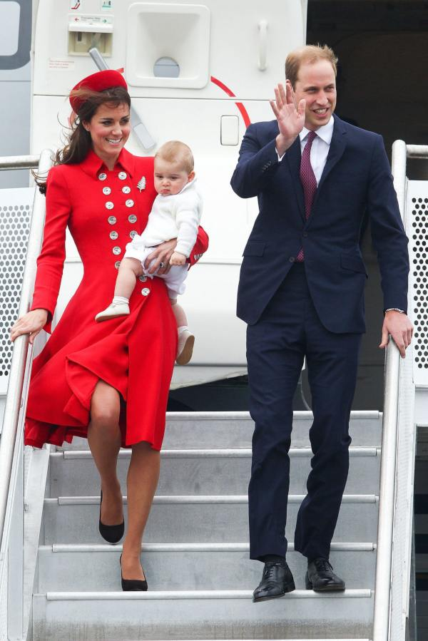 William Kate George in New Zealand