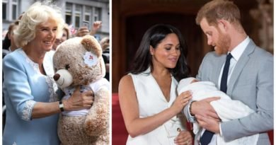 Camilla's Reaction To Seeing First Photos Of Baby Archie