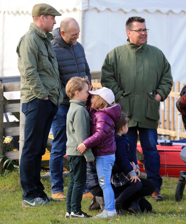 George and Mia Tindall
