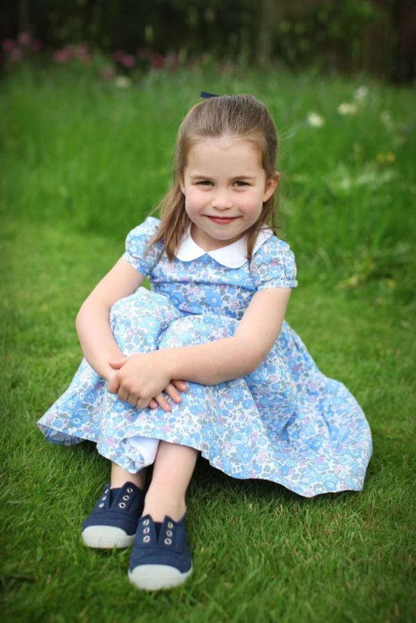 Happy Birthday Princess Charlotte! Three New Photos Released To Mark Charlotte's Special Day!