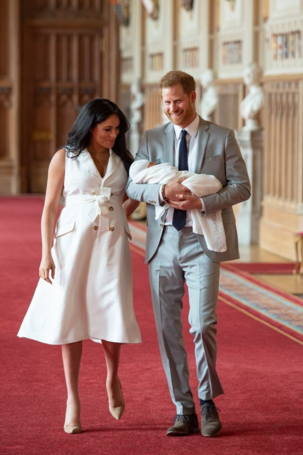 Harry And Meghan Announced The Name Of Their First Son