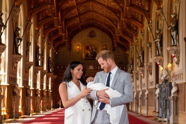 Harry And Meghan Introduced Their Son At Windsor Castle