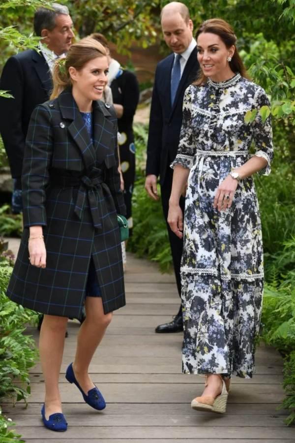 Kate and Princess Beatrice