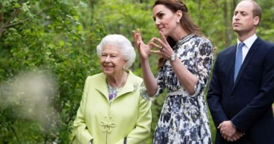 Kate Got Tons Of Support From William, The Queen And The Rest Of The Royals At Chelsea Flower Show