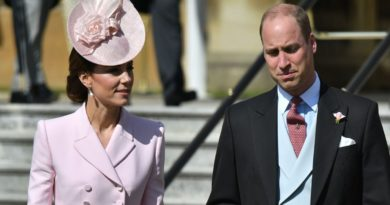 Kate Middleton and Prince William Palace Garden Party