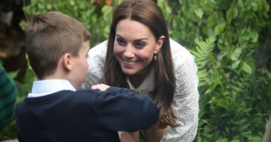 Kate Revealed How George, Charlotte And Louis Surprised Her At Chelsea Flower Show
