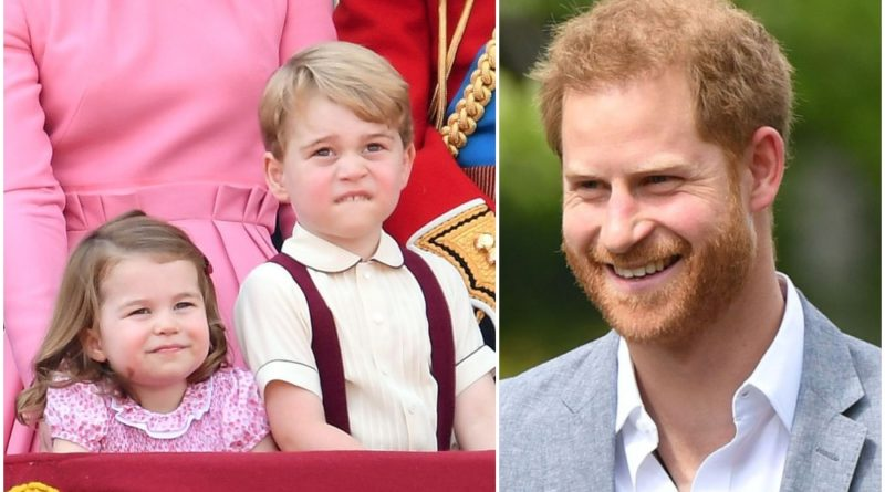 Mike Tindall Reveals Sweet Details About Harry's Relationship With George Charlotte And Louis