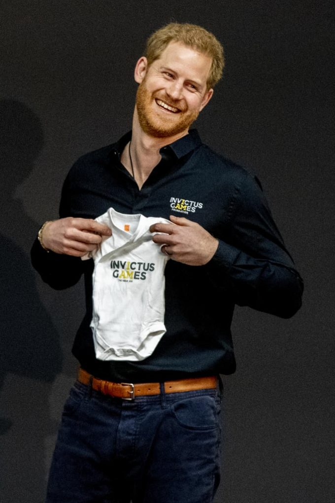 Prince Harry the new father 6