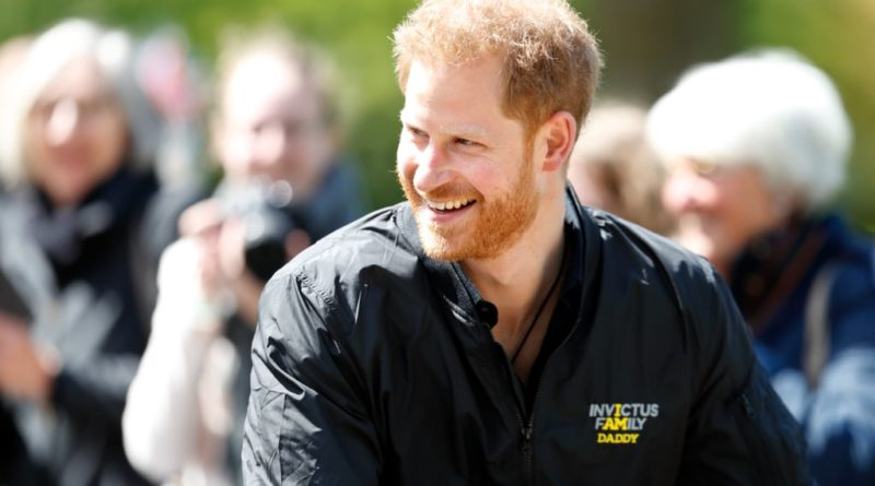 Prince Harry the new father