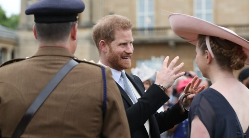 Harry's Sweet Nod To Wife Meghan At The Garden Party