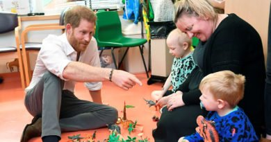 prince harry at childrens hospital in oxford