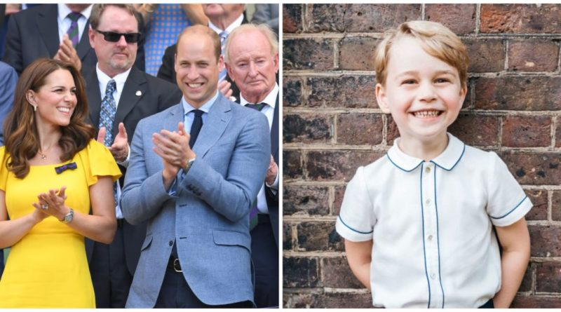 George Helps William And Kate At Home In The Sweetest Way