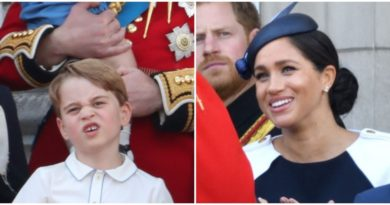 How George Managed To Make Aunt Meghan Laugh