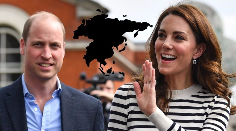 Kate And William's Asia Tour