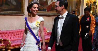 Kate Middleton, and Steven Mnuchin at the State Banquet
