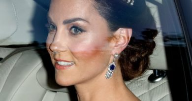 Kate Pays Tribute To The Queen Mother And Late Diana At The Trump State Banquet