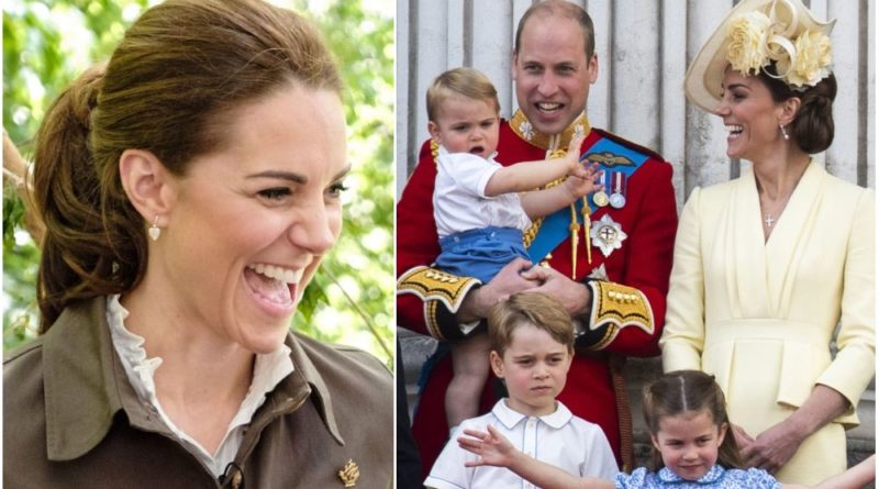 Kate Revealed How She Boosts George, Charlotte And Louis Wellbeing