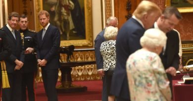 Prince Harry meets with trump