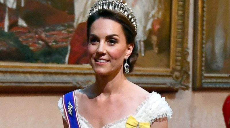 The Deeper Meaning Behind Kate's State Banquet Sash