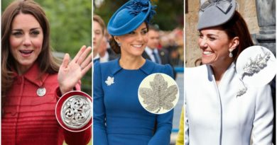 The Meanings Behind Each Of Kate Middleton's Brooches