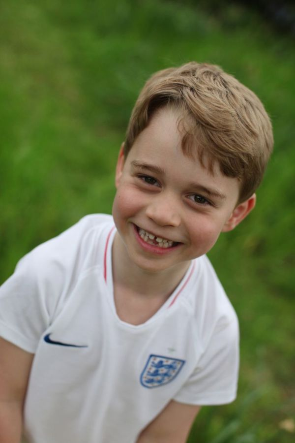Happy Birthday Prince George! Three New Photos Released To Mark George's Special Day!