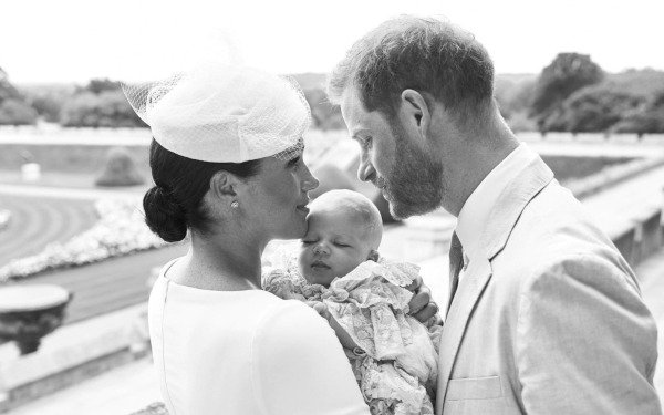 Harry And Meghan Release Official Photos Of Archie's Christening