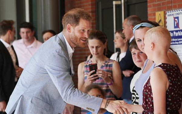 Harry Retraces Diana's Footsteps As He Visits Sheffield Children's Hospital