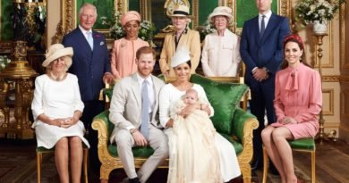 Hidden Detail In Archie Christening Photo Gave Away Big Clue About Service