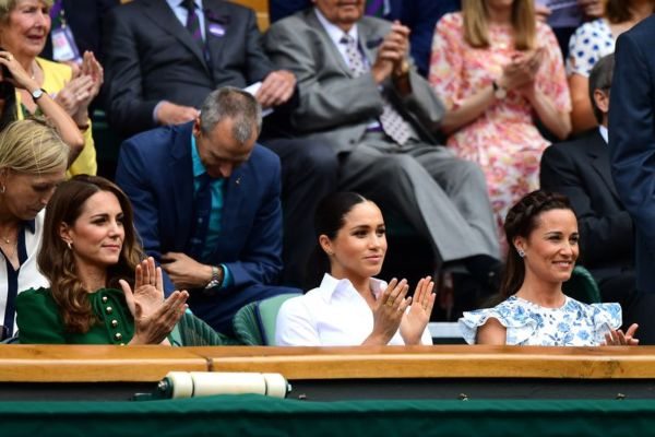 Kate And Meghan Are All Smiles During Joint Appearance At Wimbledon