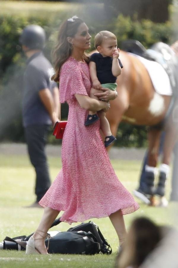 Kate And Meghan Unite With Kids To Watch William And Harry At Polo