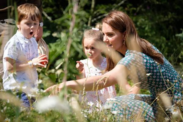 Kate Just Revealed What's George And Charlotte's Favorite Thing In Her RHS Garden