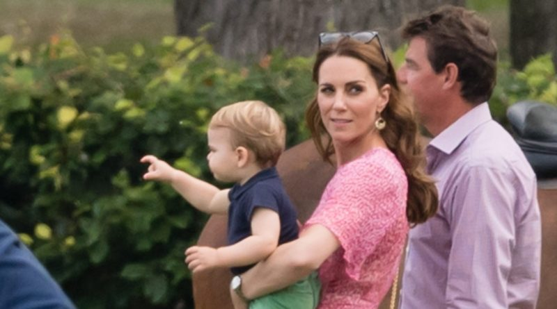 Kate Middleton and Prince Louis