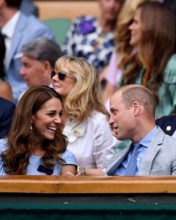 Kate and William at Wimbledon 1