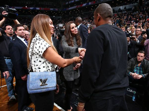 Kate and William meet with Beyonce and Jay Z