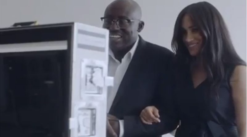 Meghan Shares A 'Sneak Peak' Video Of Vogue Guest-Editing Role