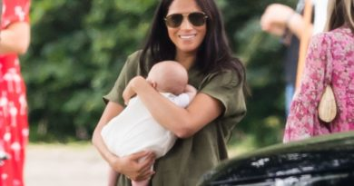 Meghan and Archie Harrison-
