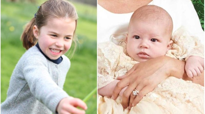 """Princess Charlotte Reportedly Treats Cousin Archie """"Like A Doll"""""""