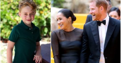Uncle Harry And Aunt Meghan's Sweet Birthday Message For George