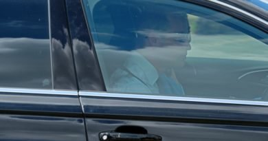 William And Kate Spotted Arriving For Archie's Christening