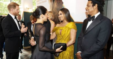 beyonce and meghan markle at lion king