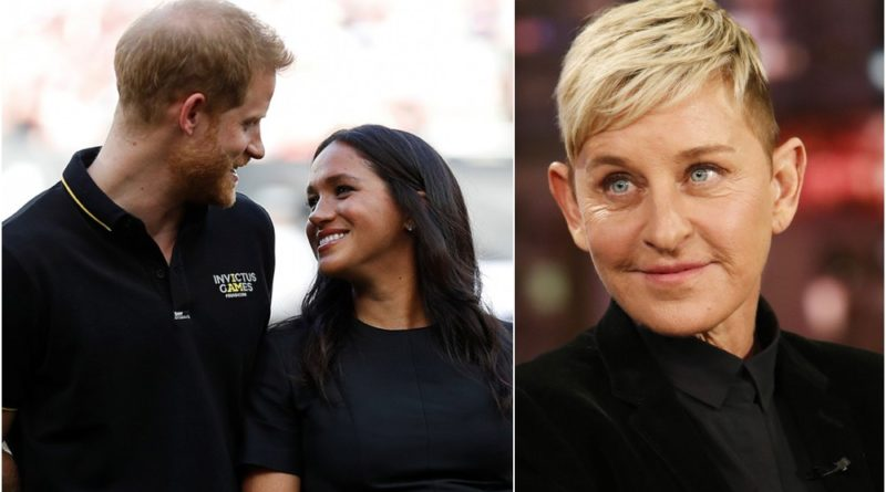 Ellen Revealed Secret Meeting With Harry And Meghan
