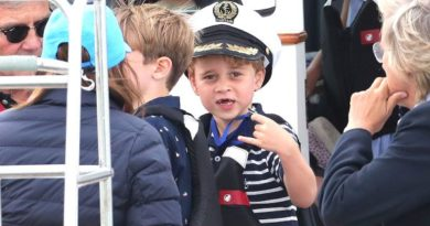 George And Charlotte Cheer On Mom And Dad In The King's Cup Regatta