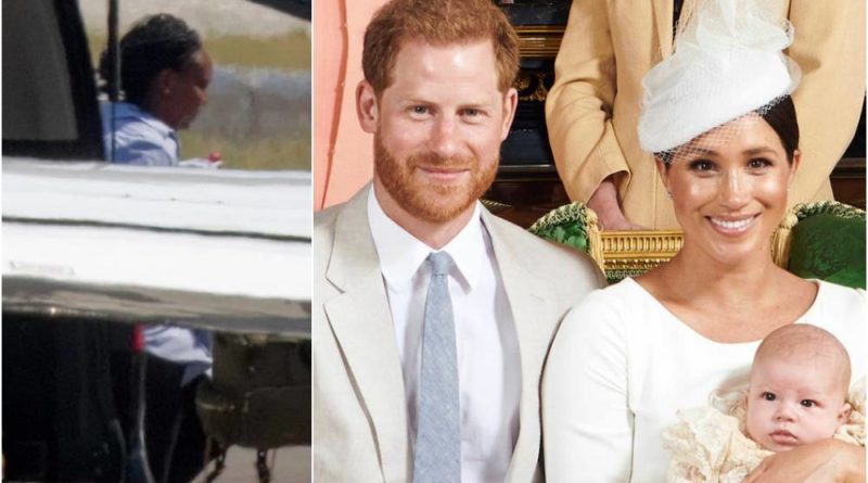 Harry And Meghan's Nanny Spotted In Public For The First Time